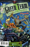 Green Team Teen Trillionaires Vol 1 1