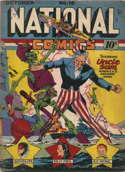 National Comics Vol 1 16