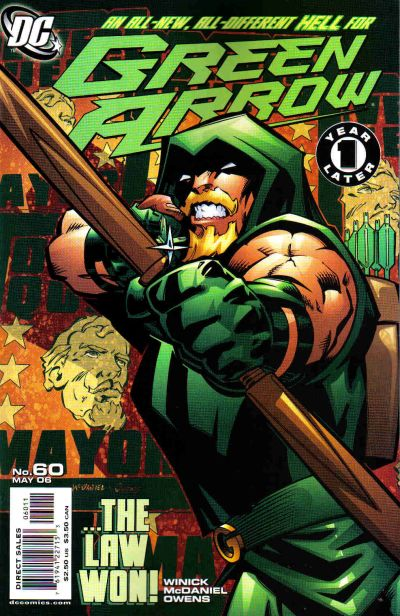 Green Arrow Vol 3 60