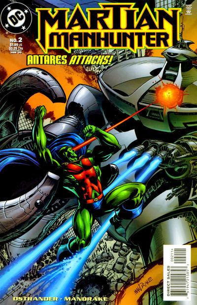 Martian Manhunter Vol 2 2