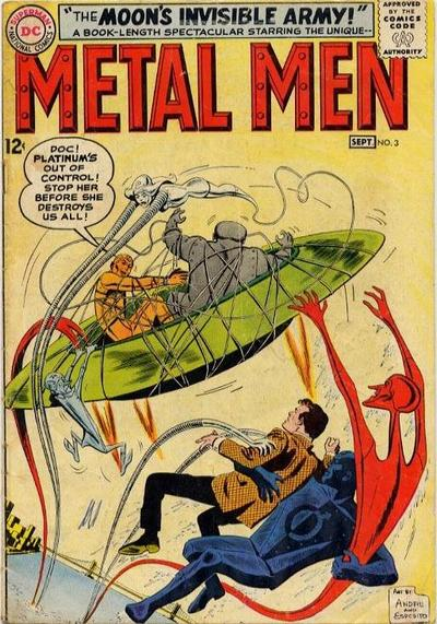 Metal Men Vol 1 3