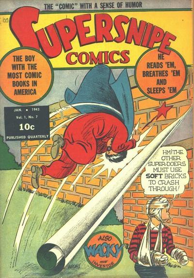 Supersnipe Comics Vol 1 7