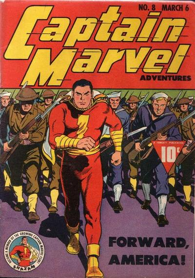 Captain Marvel Adventures Vol 1 8