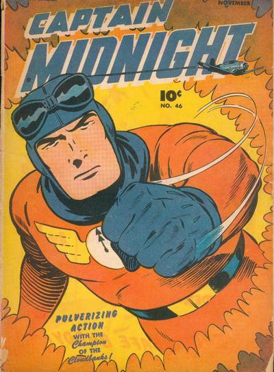 Captain Midnight Vol 1 46