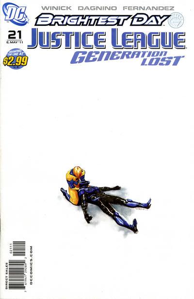 Justice League: Generation Lost Vol 1 21