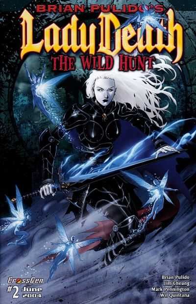 Brian Pulido's Lady Death: The Wild Hunt Vol 1 2