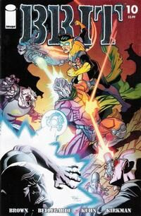 Cover for Brit #10 (2008)