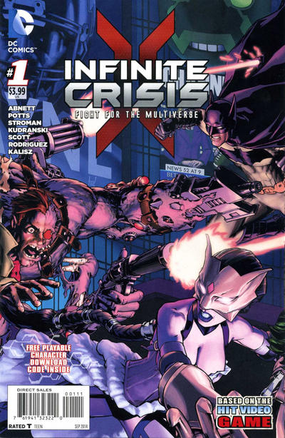 Infinite Crisis: The Fight for the Multiverse Vol 1 1