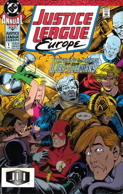 Justice League Europe Annual Vol 1 1