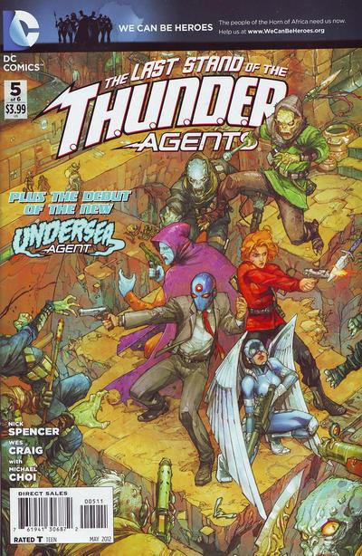 T.H.U.N.D.E.R. Agents Vol 4 5