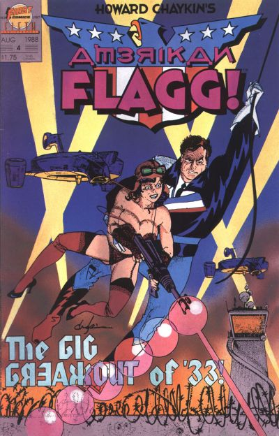 Howard Chaykin's American Flagg Vol 1 4