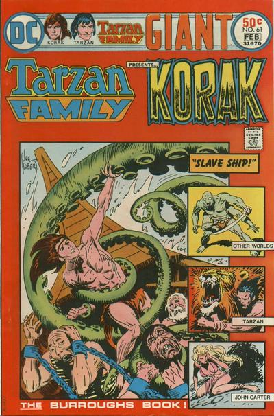 Tarzan Family/Covers