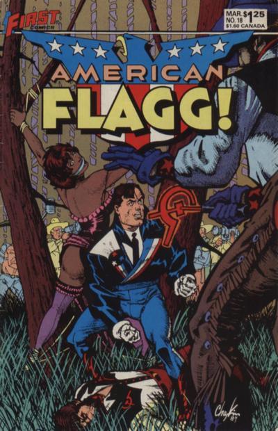 American Flagg Vol 1 18