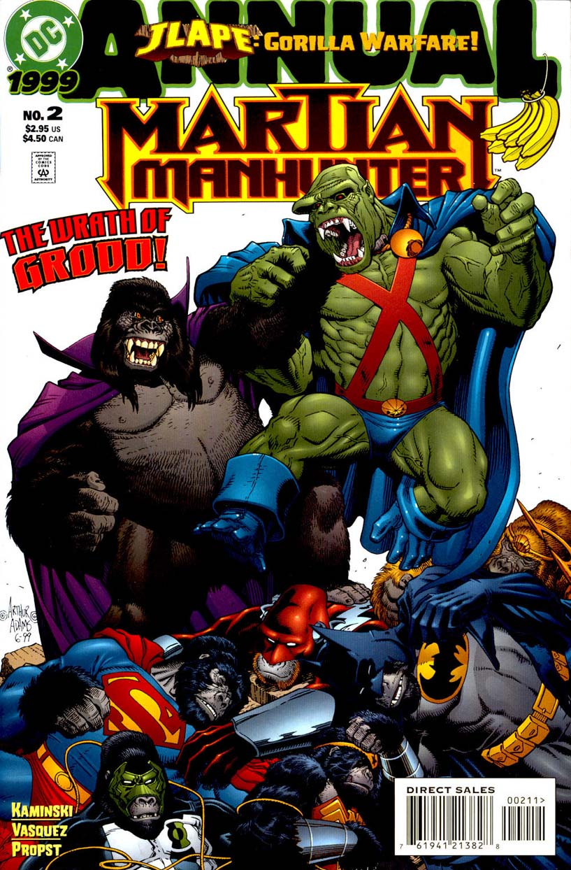Martian Manhunter Annual Vol 2 2
