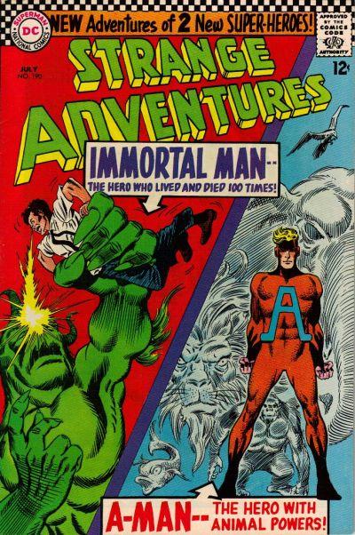 Strange Adventures Vol 1 190