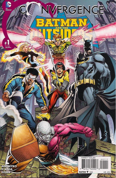 Convergence: Batman and the Outsiders Vol 1 1