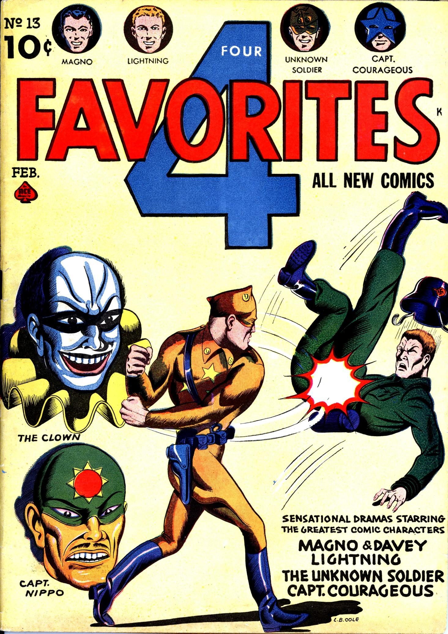 Four Favorites Vol 1 13