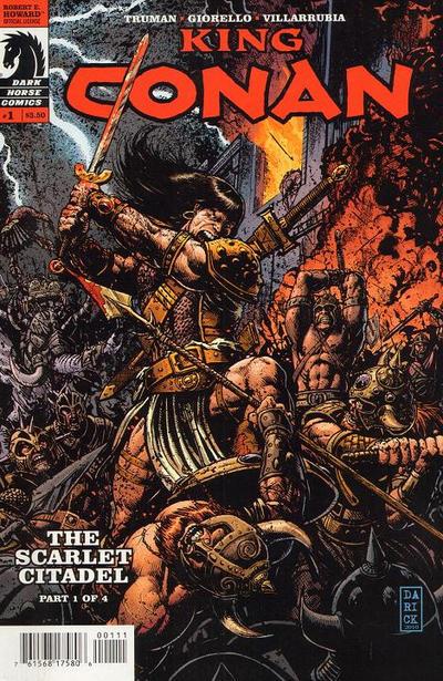 King Conan: The Scarlet Citadel Vol 1 1