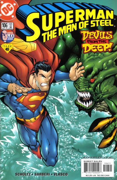 Superman: Man of Steel Vol 1 106