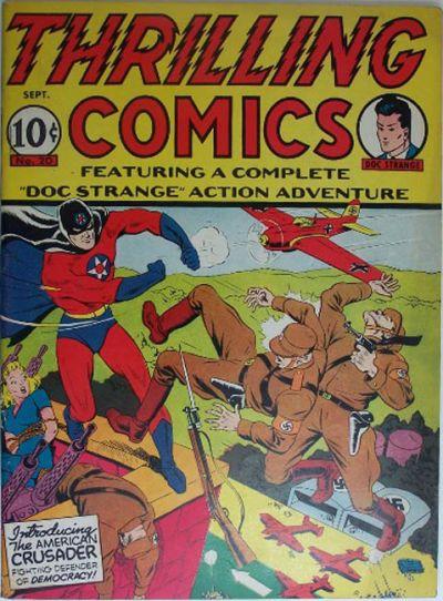 Thrilling Comics Vol 1 20
