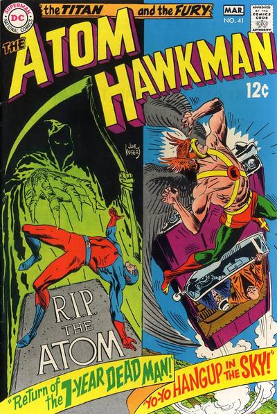 Atom and Hawkman Vol 1 41