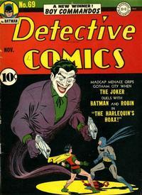 Detective Comics Vol 1 69