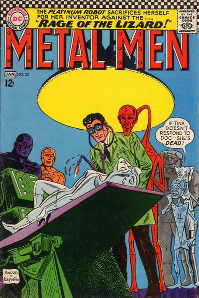 Metal Men Vol 1 23