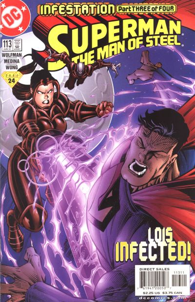 Superman: Man of Steel Vol 1 113