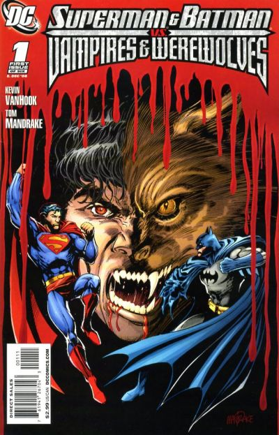 Superman and Batman vs. Vampires and Werewolves Vol 1 1