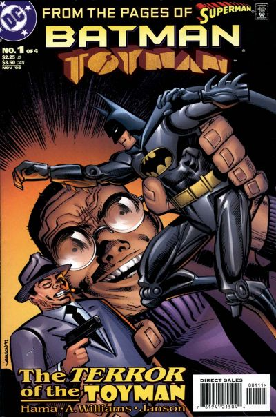 Batman: Toyman Vol 1 1