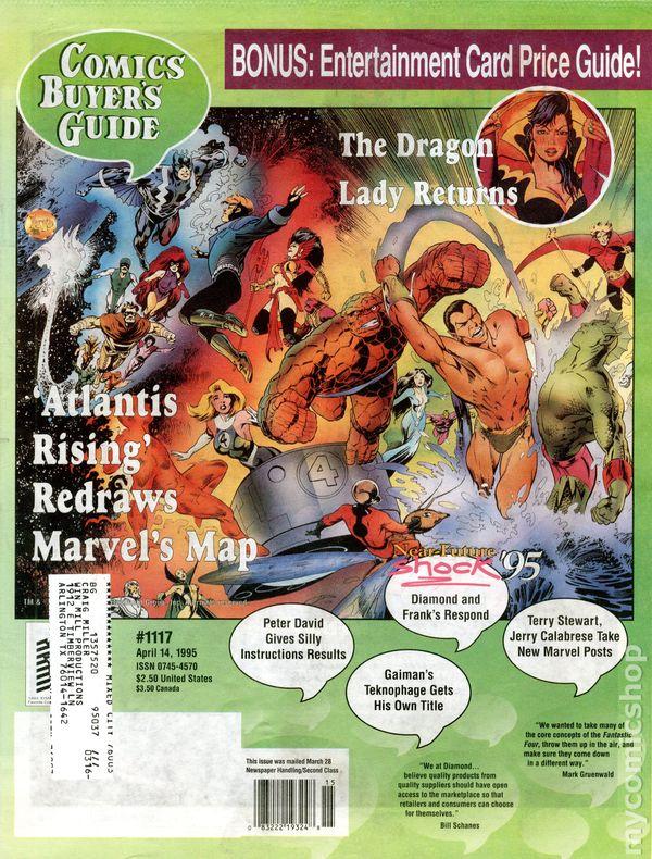 Comics Buyers Guide Vol 1 1117