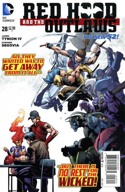 Red Hood and the Outlaws Vol 1 28