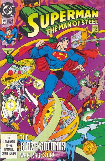 Superman: Man of Steel Vol 1 15