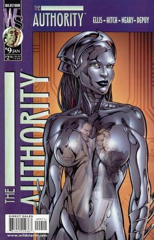 Cover for The Authority #9 (2000)