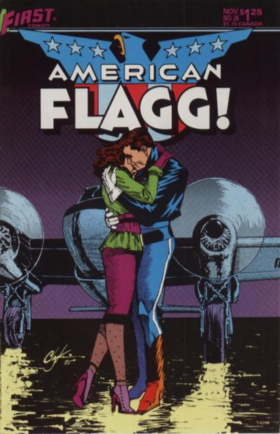 American Flagg Vol 1 26