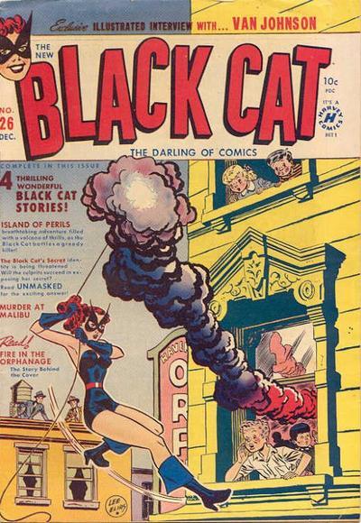 Black Cat Comics Vol 1 26