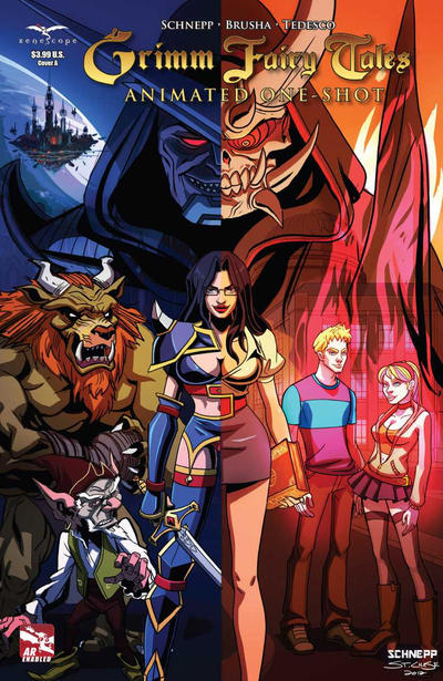 Grimm Fairy Tales Animated Series Vol 1 1