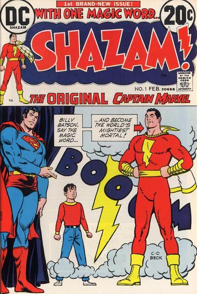 Shazam Vol 1 1