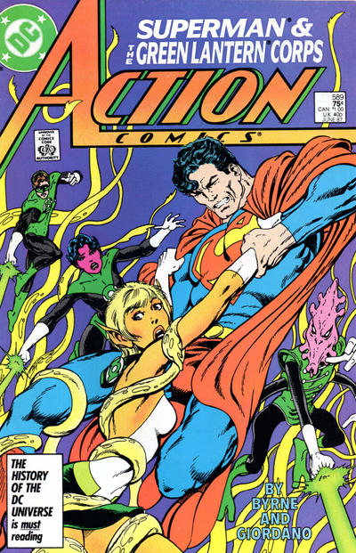 Action Comics Vol 1 589