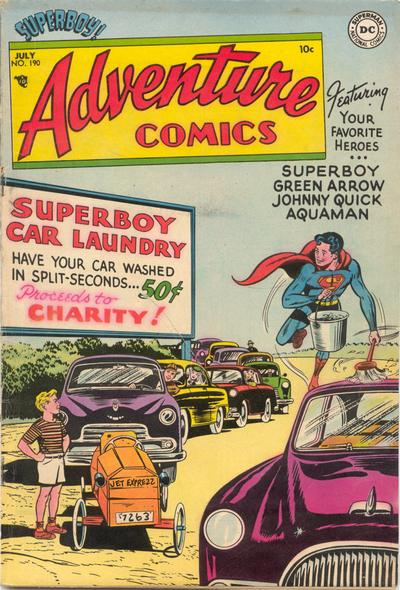 Adventure Comics Vol 1 190