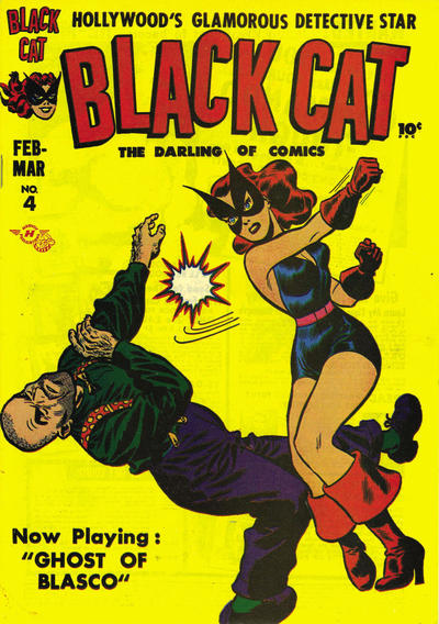 Black Cat Comics Vol 1 4