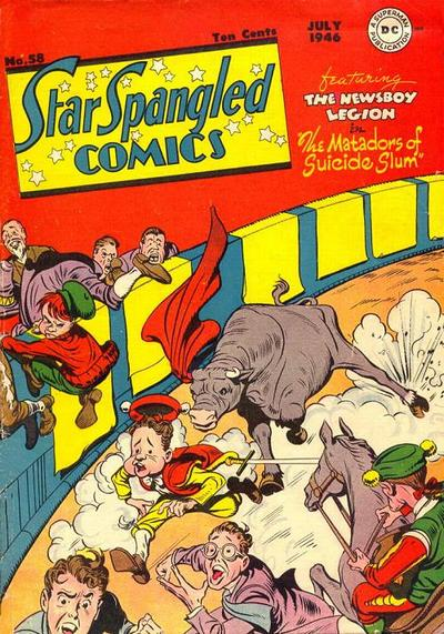 Star-Spangled Comics Vol 1 58