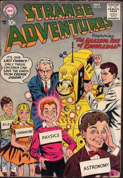 Strange Adventures Vol 1 92