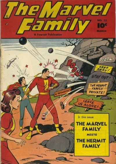 Marvel Family Vol 1 33