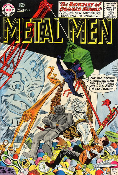 Metal Men Vol 1 4