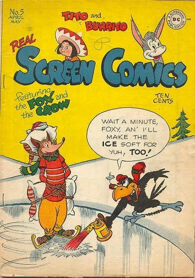 Real Screen Comics Vol 1 5