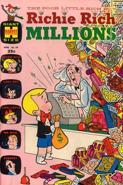 Richie Rich Millions Vol 1 34