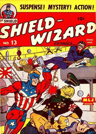 Shield-Wizard Comics Vol 1 13