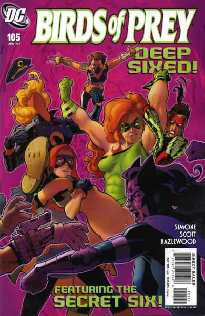Birds of Prey Vol 1 105