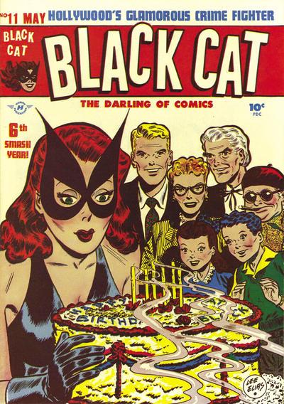 Black Cat Comics Vol 1 11